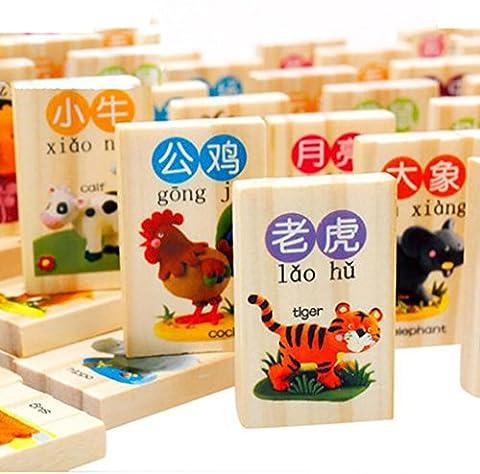 Wisdom Chinois de reconnaissance de caractères chinois Building Blocks, tôt