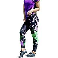 Pantalones Leggings Vestir Deportivos Yoga para Mujer Otoño Invierno 2018 PAOLIAN Pantalones Running Fitness Moda Cintura Alta Jogger de Chandal Casual Pantalones Elástica Estampado Señora