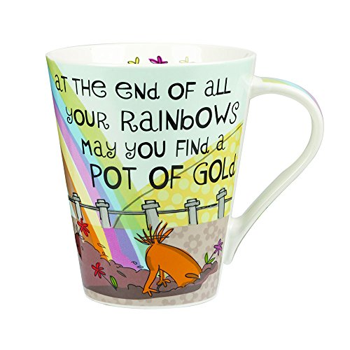 the-good-life-mug-en-porcelaine-motif-at-the-end-of-all-your-rainbows-multicolore