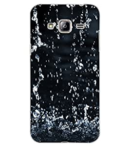 ColourCraft Lovely Rain Falling Design Back Case Cover for SAMSUNG GALAXY J3