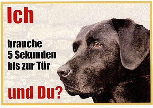 warnschild-labrador-schwarz-kopf-078-ca-21-x-15-cm-laminiert-wasserabweisend-motiv-ich-bin-der-freun