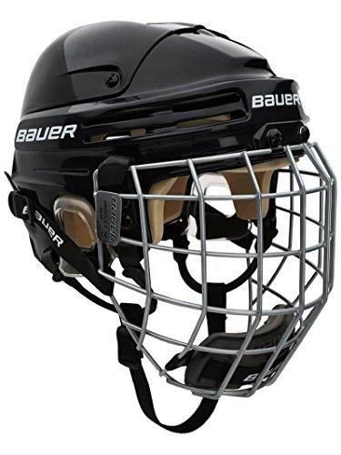 Bauer Eishockey 4500Helm Combo Senior Größe L schwarz - schwarz -