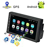 AMpime Car Stereo 2 Din Android 8.1 GPS Navigation Radio Player 7 inch