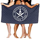 ASKSWF Telo da Bagno-Spartan Warrior Molon Labe Fashion Over-Sized Beach Bath Towels