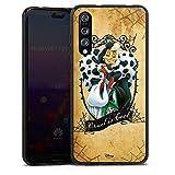 Huawei P20 Pro Silikon Hülle Case Schutzhülle Disney 101 Dalmatiner Cruella De Vil Geschenk Merchandise