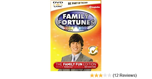 Family Fortunes Vol 3 [Interactive DVD]: Amazon co uk: DVD & Blu-ray
