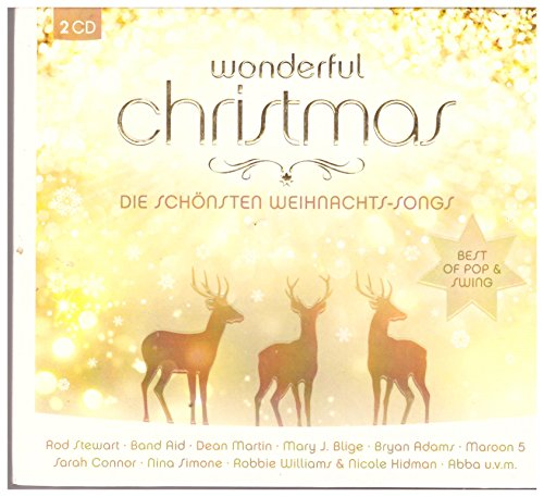 Wonderful Christmas Doppel-CD Best of Pop & Swing