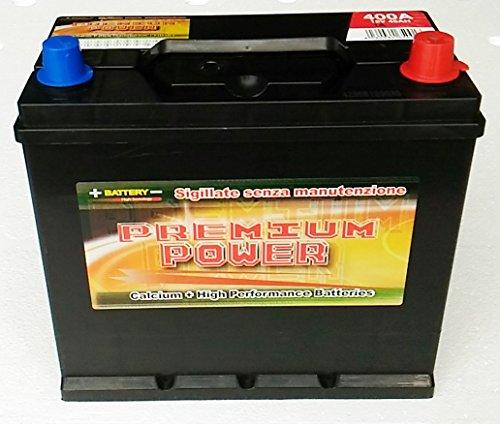 Batteria Auto 45 Ah x CINQUE100 L,R,D,F D'EPOCA,etc.(spunto 400 A, 30% in più) (dx)