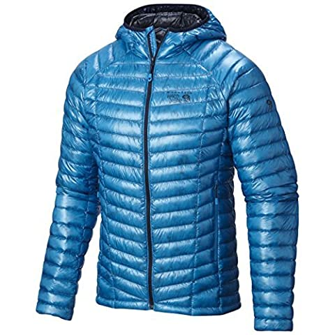Mountain Hardwear Ghost Whisper Hooded Down Jacket - Men's Dark Compass X-Large by Mountain Hardwear