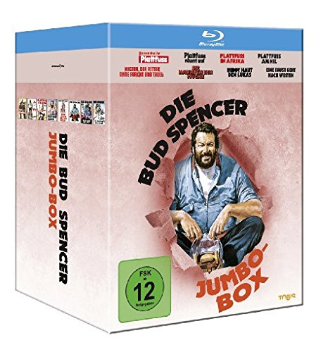 Die Bud Spencer Jumbo Box [Blu-ray]