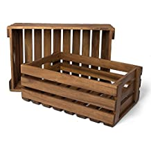 park alley caja de madera para frutas y verduras caja de almacenamiento de madera de - Caja De Madera Fruta