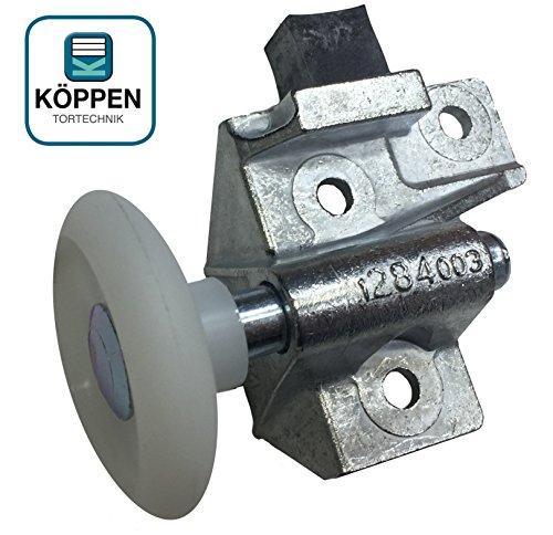 Hörmann Rollenhalter/Laufrolle für Schwingtore (links) F80