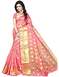 Indian Fashionista Women's Silk Saree With Blouse Piece (Nrpt1105D,Multicolor,Free Size)