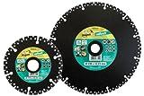 Wolfcraft 8334000 8334000-1 Disco diamantado de tronzar Project Multi para amoladoras angulares diam. 115 x 22,2 mm