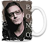 Bono Unique Coffee Mug | 11Oz Ceramic Cup| The Best Way to Surprise Everyone on Your Special Day| Custom Mugs by