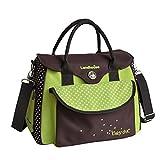 Britische Mode multifunktionale Mama Tasche, produziert Paket, wasserdichte große Kapazität Mama Tasche ( Farbe : Grün )