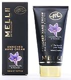 MELLI Handcreme - Lavendel, Intensivpflege für sehr strapazierte Hände mit zartem Lavendelduft, spendet viel Feuchtigkeit
