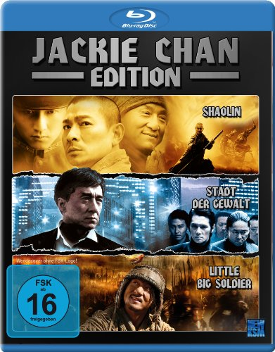 Jackie Chan Edition (Little Big Soldier / Shaolin / Stadt der Gewalt) [Blu-ray] (Blu-ray Chan Jackie Collection)