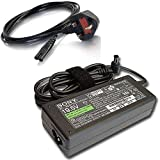 Sony Bravia 19.5V Ac Dc Adapter for Sony Bravia W600B, W650A, W657A, W658A, W658A, W65xA, W674A, W700B, W800B, W807B, R470B, W600B Series 24'' 32'' 40'' 42'' 48'' WXGA Smart LED/LCD TV/HDTV/4K UHD Original Power Supply Cord/Cable
