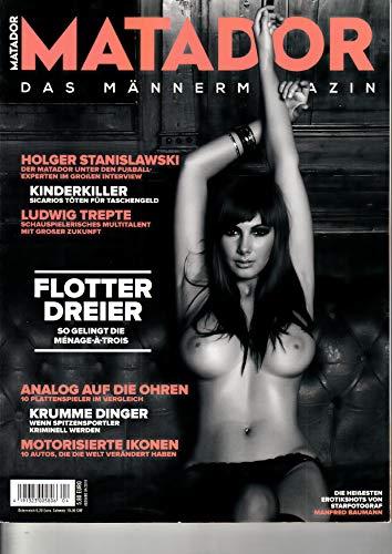 Matador 1 2018 Pia Zeitschrift Magazin Einzelheft Heft Männermagazin