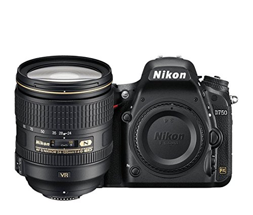 Nikon D750 Digital SLR Camera + 24-120mm 4G VR Kit
