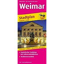 Weimar: Touristischer Stadtplan mit Sehenswürdigkeiten und Straßenverzeichnis. 1:14000 (Stadtplan / SP)