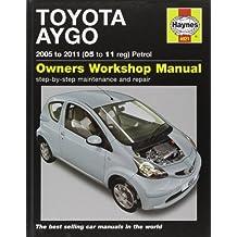 Toyota Aygo Petrol: 2005 to 2011 (Service & repair manuals)