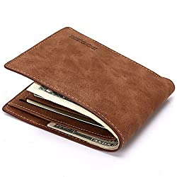 Bogesi Mens Wallet Brown {Pack of 2}