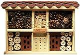 Insektenhotel - Luxus-Insektenhotels 5 Insektenhotel-Bausatz Landhaus Komfort einfaches Dübel-Stecksystem