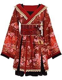 a941d352ed68 GRACEART Japonais Kimono Cosplay Costume Robe avec Ceinture