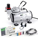 Best Airbrush Kits - Airbrush Kit Fengda FD-18-2K with Compressor FD-18-2, Airbrush Review