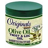 Africa's Best Organics Olive Oil Gel Twist & Lock 425 ml Jar (Case of 6) by Africa's Best