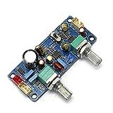 Q-BAIHE DC alimentatore a singola alimentazione 9v-32v scheda frontale subwoofer a scheda di filtro passa-basso con zoom e regolazione della fase