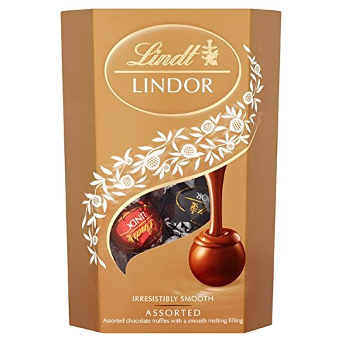 Lindt Lindor Assorted 200g (Packung 8) (Assorted Pralinen)