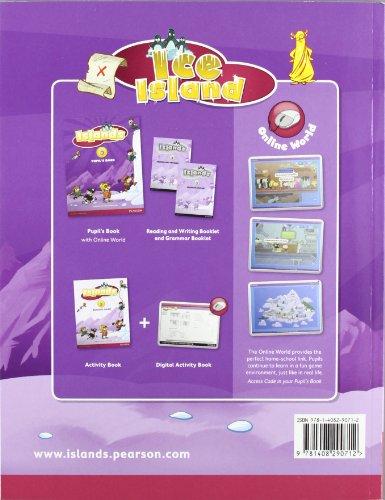 Islands Level 5 Pupil's Book plus pin code