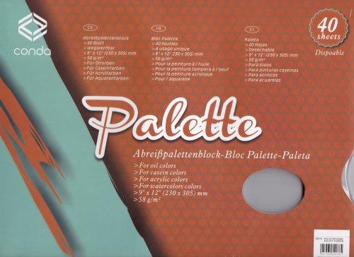 palette 40 Blatt 230 x 305 mm ()