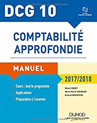 DCG 10 - Comptabilité approfondie 2017/2018 - 8e éd. - Manuel