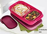 #9: Tupperware Mylunch Tiffin (Pink) 1 PC