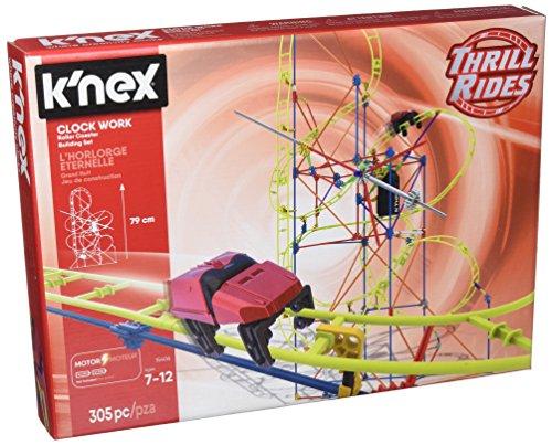 K'NEX 33950 - Thrill Rides - Clock Work Roller Coaster - 305 Pieces - 7+ - Bau- und Konstruktionsspielzeug