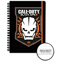 Blocco spiralato Din A5 Call of Duty - Black Ops III Logo