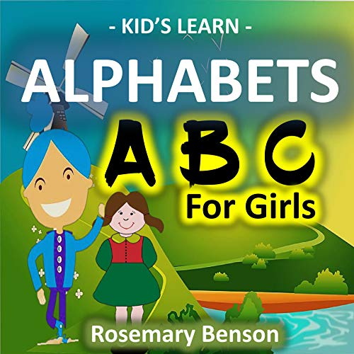 Alphabet ABC For Girls (Kid's Learn Book 3) (English Edition)