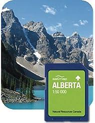Satmap GPS System Karte 1:50000 Kanada: Alberta, schwarz, CA-REG-50-SD-001