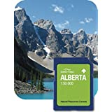Satmap Mappa 1 50000 Canada Alberta Gps System Nero (schwarz) Taglia unica