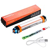 Audew Camping Laterne LED Licht Mehrzweck-Taschenlampe Notfallleuchte Moskito-Lampe SOS Lichter 6 Modi Outdoor Latern 5200mAh USB Power Bank IP68 Wasserdicht[Energieklasse A+]
