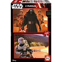 Puzzles Educa - Star Wars Episode VII, 2 x 100 piezas (16521)