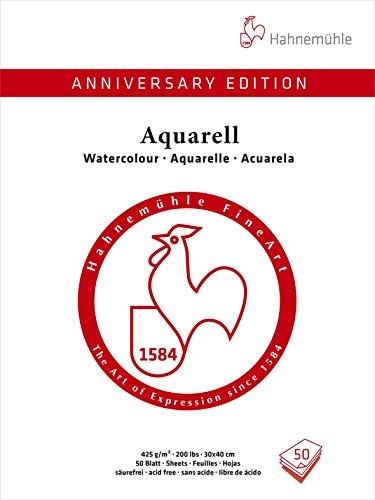 Aktion AnniversaryEditionAquarell 425g/m², 30x40cm, 50Blatt