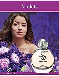 Sangado violets Parfum Vaporisateur 50ml–pour femme