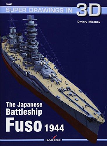 The Japanese Battleship Fuso (Super Drawings in 3D) por Dmitry Mironov
