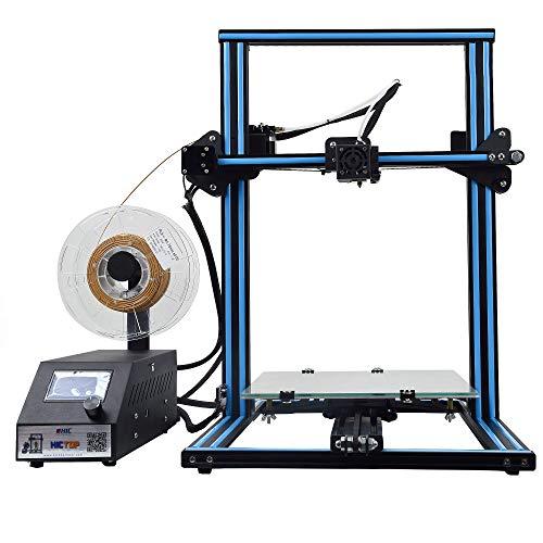3D-Drucker - Dual Z-Achse DIY Kit Filament Monitor Detektor Upgrade Semi-assembled mit 300x300x400mm HICTOP