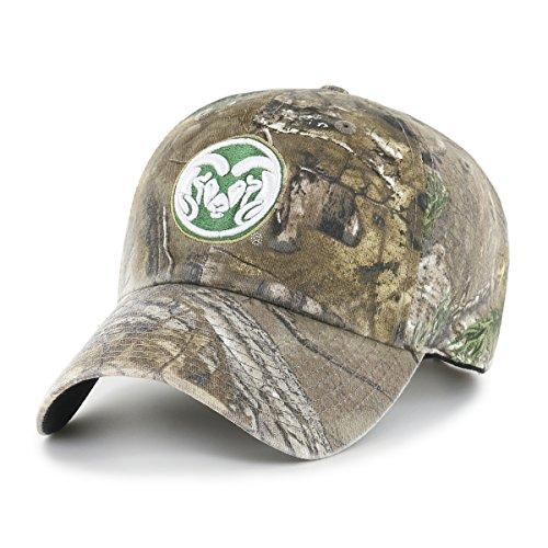 NCAA Realtree OTS Challenger verstellbar Hat, Unisex - Erwachsene, NCAA Realtree OTS Challenger Clean Up Adjustable Hat, Realtree Camo, Einheitsgröße Athletic Vintage Cap